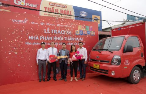 OFFERING TRUCK TO TUAN HOAI DISTRIBUTOR